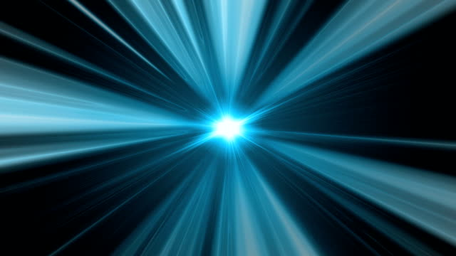 Blue Light Background Loop video