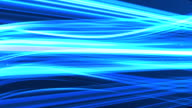 Blue light streaks abstract background animatio video