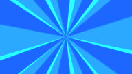 Blue Light Streaks Background Loop video