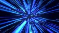 Blue Light streaks video