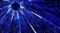 Blue lighting design video