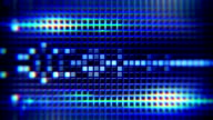 blue lights and tiles loop background video