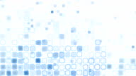 blue liquid squares loopable pattern animation video