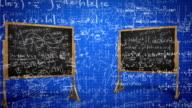 Blue Math Background HD video