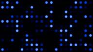 Blue Monotone Coloured Dots Background video