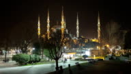 HD: Blue Mosque (Suleymaniye Camii) **Time Lapse** video