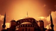 Blue Mosque (orange) video
