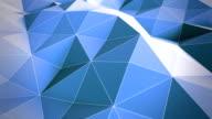 Blue Polygon Waves video