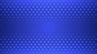 Blue Repeating Square Pattern Design Background. video