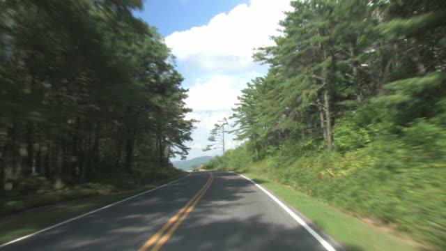 Blue Ridge driving 2 - HD 30F video