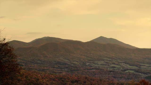 Blue Ridge Mountains, Virginia, USA video
