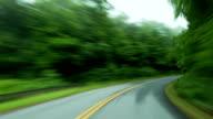 Blue Ridge Parkway Timelapse POV video