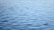 Blue Rippling water background video