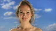 Blue screen, Beauty shot video