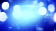 blue shimmering light loopable techno background video