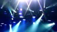 Blue Show Light video