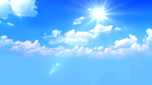 Blue sky HQ 1080p video