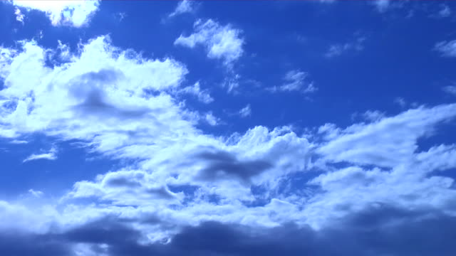 Blue Sky Timelapse video