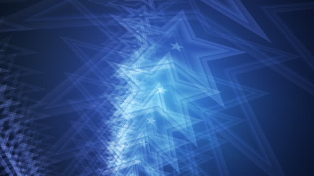 Blue Star Background HD video