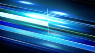 blue stripes motion blur abstract loop animation video