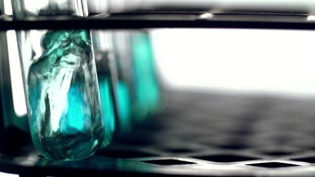 Blue substance video