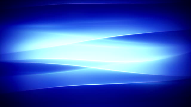 blue wavy smooth lights loopable background video
