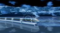Blue wireless communication concept  1080P video