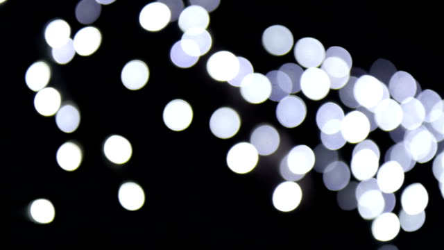 Blur colour light abstract background with bokeh defocused lights video