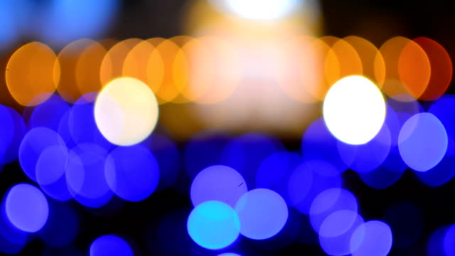 blurred, Abstract festive background, bokeh lights background. video