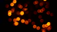 blurred, bokeh lights video
