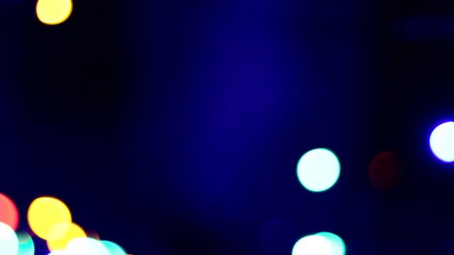 Blurred Christmas lights background. HD, NTSC, PAL video