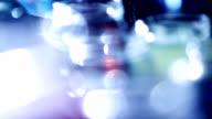 Blurred glass jar video