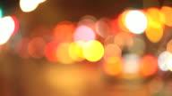 Blurred Lights video
