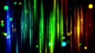 blurred vertical lines and bokeh loop video