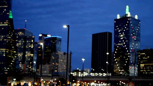 Blurry City Lights video