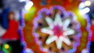 blurry light colorful background video