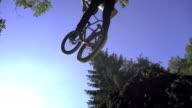 SLOW MOTION: Bmx trick video