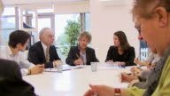 Boardroom business HD video