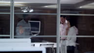 Boardroom meeting in fine offices video