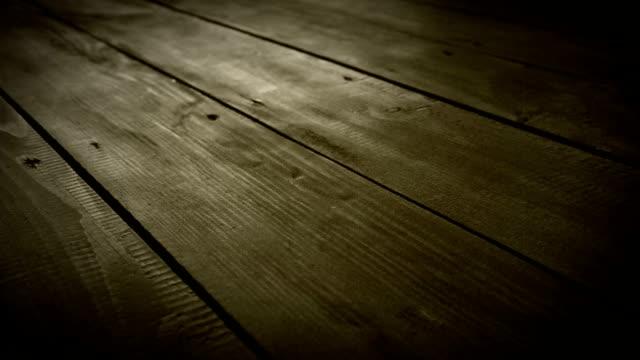 Boardwalk Floor slider dolly movement video