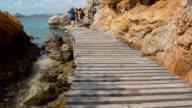 Boardwalk to the Beach video