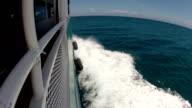 Boat at sea video