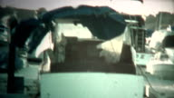 (8mm Vintage) Boat Cover Ripped Off By Hurricane video