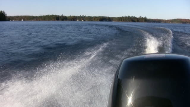 Boat motor. video