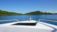 HD Boat on sea video
