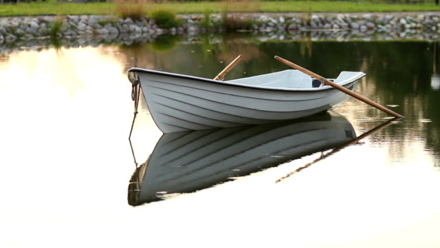 Boat On The Calm Lake video