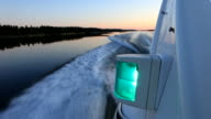 Boat ride in Scandinavia video