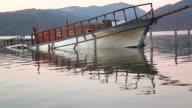 Boat Sinking video