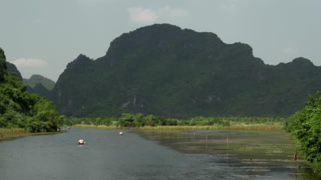 Boat tours in Trang An, Vietnam video