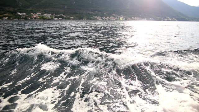 Boat trip in the Bay of Kotor video